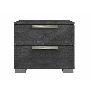 Casabianca Furniture Hampton 2 Drawer Nightstand