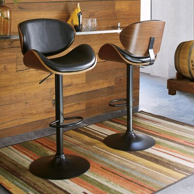 Leather Swivel Bar Stools You Ll Love In 2020 Wayfair