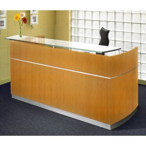 Napoli Rectangular Reception Desk