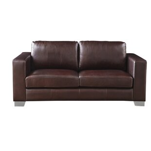 Kuhn Leather Loveseat