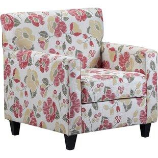 August Grove Meline Wood Armchair