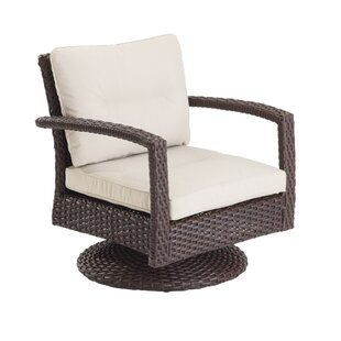 Aurora Swivel Patio Chair with Cushions