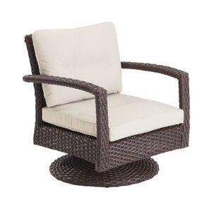 Aurora Swivel Patio Chair with Cushions