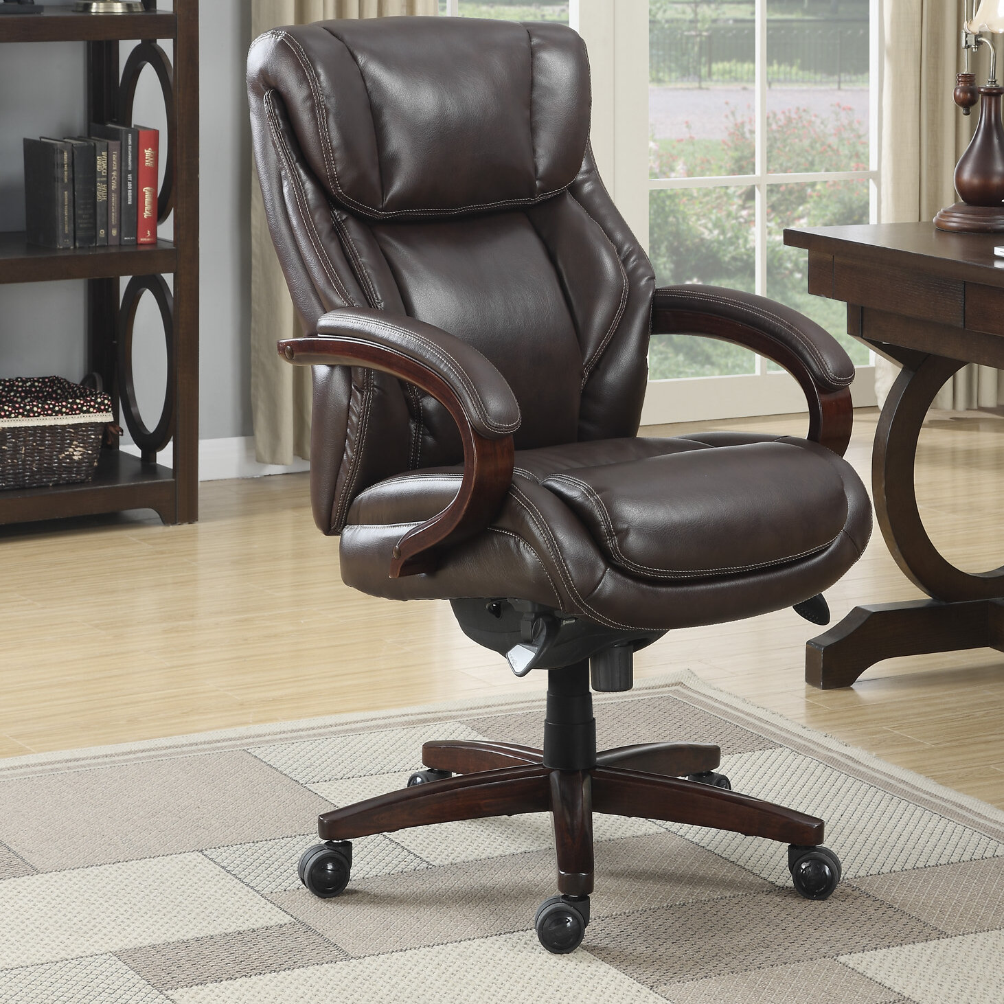 La Z Boy Bellamy Executive Chair Reviews Wayfair
