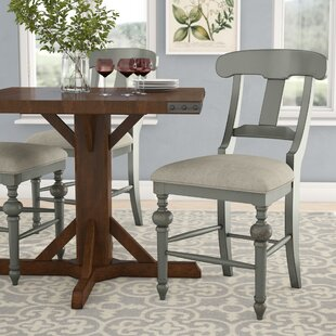 Sandbach Upholstered Dining Chair (Set of 2) Three Posts
