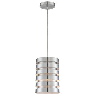 Orren Ellis Siaosi 1-Light Cylinder Pendant