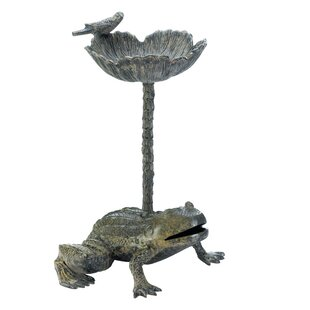 Zingz & Thingz Leap Frog Birdbath