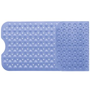 Warner Non Slip Maging Bathtub Mat With Suction Cups