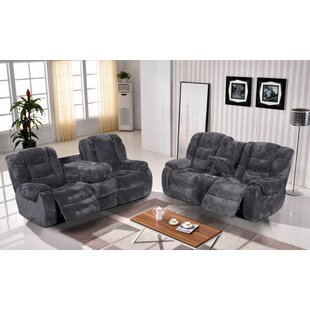 Titan Reclining 2 Piece Living Room Set by Red Barrel Studio