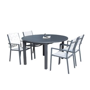 Geir Dining Set With 4 Chairs By Sol 72 Outdoor