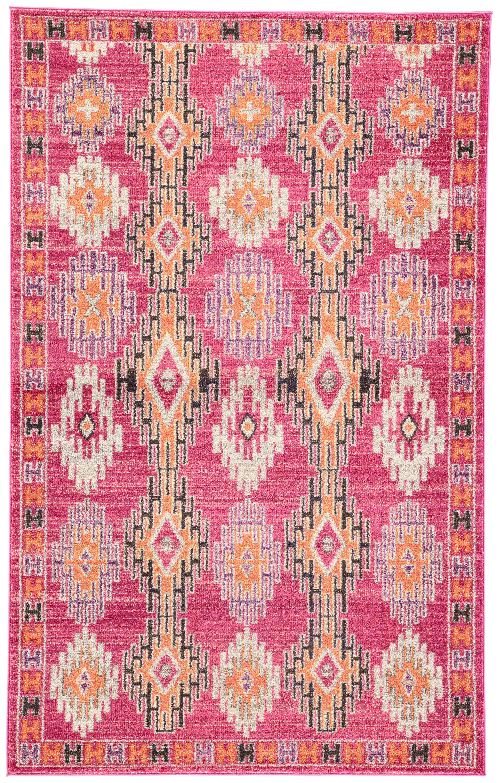 Bungalow Rose Fincher Southwestern Pink/Purple Area Rug | Wayfair