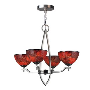 Woodbridge Lighting Alexis 4-Light Shaded Chandelier