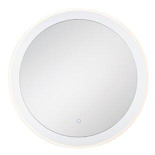 Bargain Stoffel Clear Edge Lit Bathroom / Vanity Mirror ByOrren Ellis