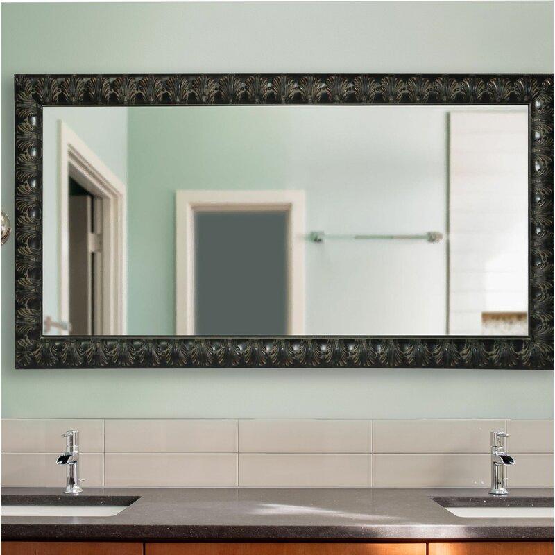 Astoria Grand Derrek Feathered Accent Double Vanity Wall