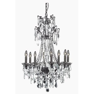 Rosdorf Park Johnsie 8-Light Candle Style Chandelier