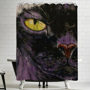 Michael Creese Sphynx Cat Single Shower Curtain