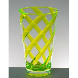 Glenorie Stripes 8 Piece Plastic Every Day Glass Set