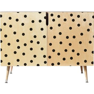 Vintage Dots Accent Cabinet by East Urban Home