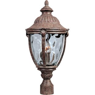 Great choice Velma Cast Outdoor 3-Light Lantern Head By Fleur De Lis Living