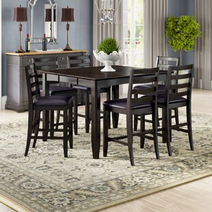Tamarack 7 Piece Counter Height Dining Set Red Barrel Studio