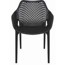 Dining Arm Chairs Black modern outdoor dining chairs | allmodern