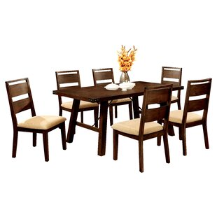 Shrader 7 Piece Dining Set Hokku Designs