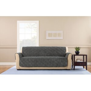 Wide Wale Corduroy Box Cushion Sofa Slipcover