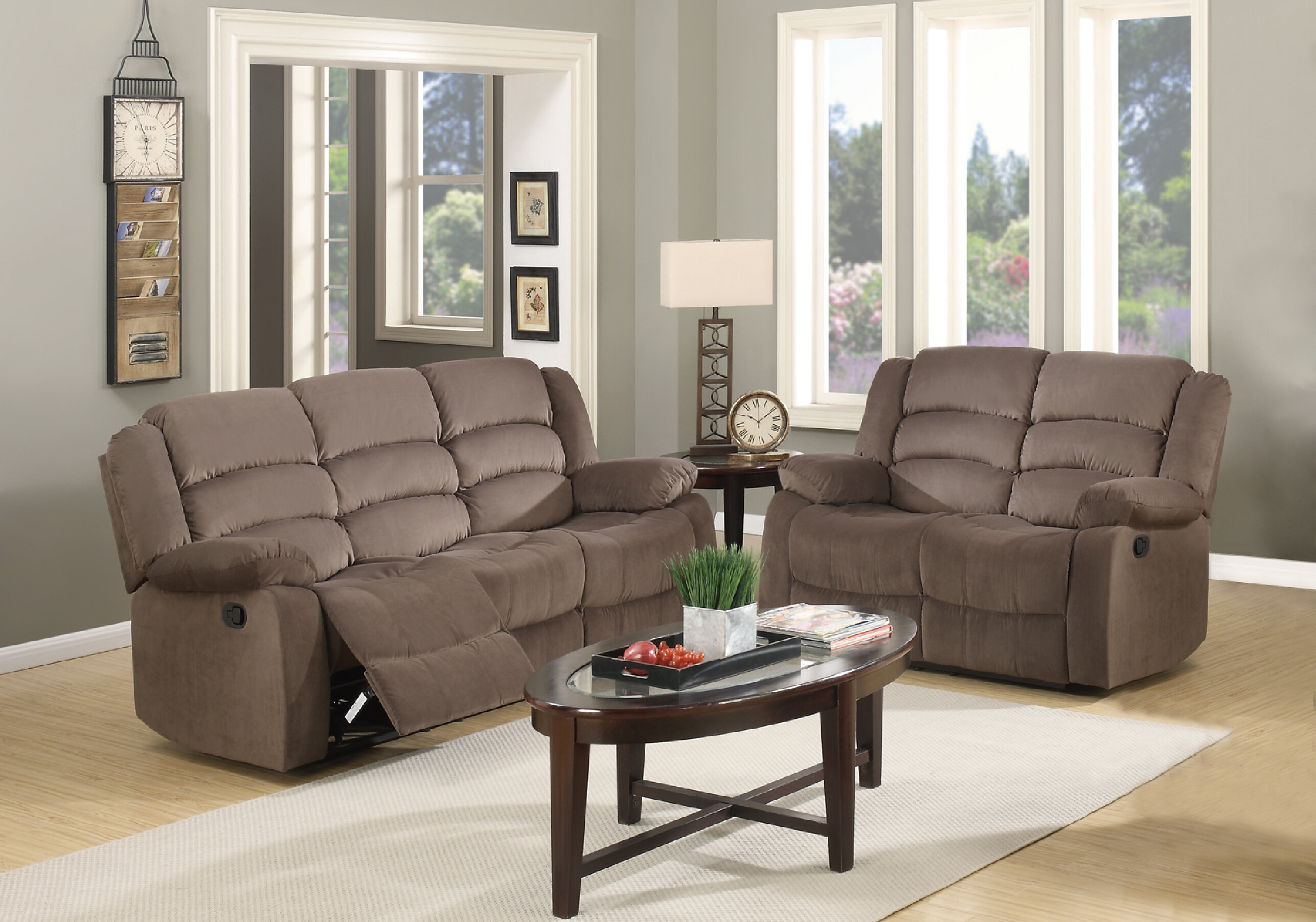 Fallon Reclining 2 Piece Living Room Set