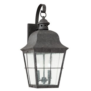 Loon Peak Chancellroy 2-Light Outdoor Wall Lantern
