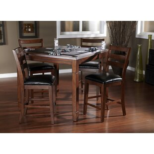 Rosa 5 Piece Counter Height Dining Set American Heritage
