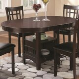 Jefferies Extendable Butterfly Leaf Solid Wood Dining Table by Winston Porter