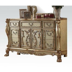 Sumiton Wooden 7 Drawer Combo Dresser