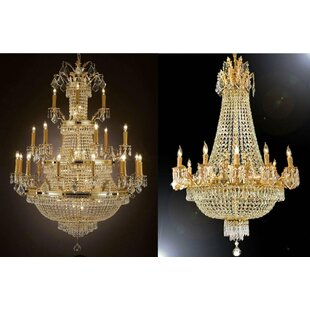 Astoria Grand Little Sodbury 2 Piece Empire Chandelier Set