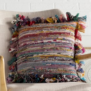 Mirabella Chindi 100% Cotton Throw Pillow