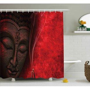 Where buy  Avondale Zen Yoga Hippie Decor Shower Curtain ByBloomsbury Market