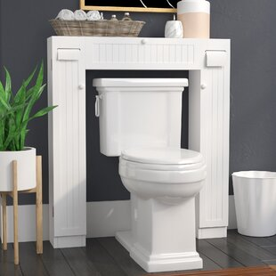 Reviews Eleanor Free Standing 34 W x 38.5 H Over the Toilet Storage By The Twillery Co.
