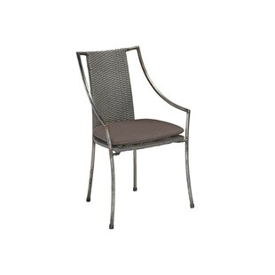 Penney Patio Dining Chair with Cushion by Williston Forge