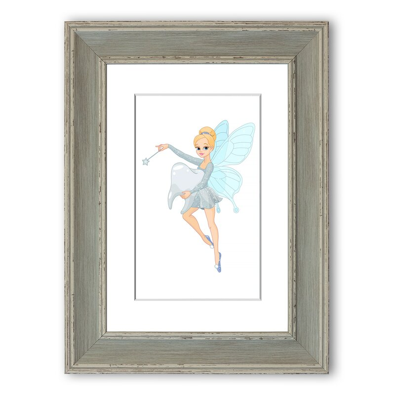East Urban Home Tooth Fairy Wish Framed Graphic Art Wayfair Co Uk