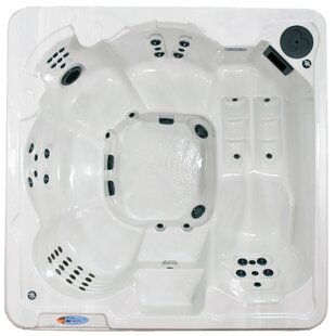 St. Thomas 6-Person 70-Jet Hot Tub With Lounger By QCA Spas