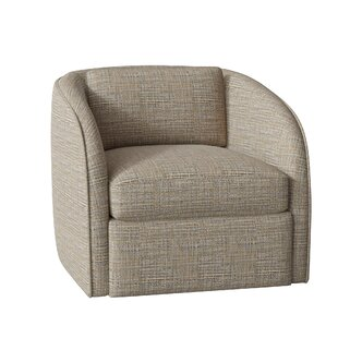 Turner Swivel Barrel Chair by Bernhardt