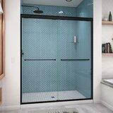 Ese 60 x 71 Bypass Semi-Frameless Shower Door by Arizona Shower Door