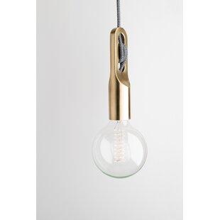 Wrought Studio Humble 1-Light Bulb Pendant