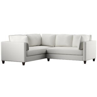Best Deals North Burnet–Gateway L-Shaped Sectional by Mercury Row Reviews (2019) & Buyer's Guide
