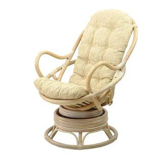 Meza Swivel Rocking Chair by Bayou Breeze
