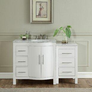 Kimberly 54 Single Bathroom Vanity Set by Silkroad Exclusive