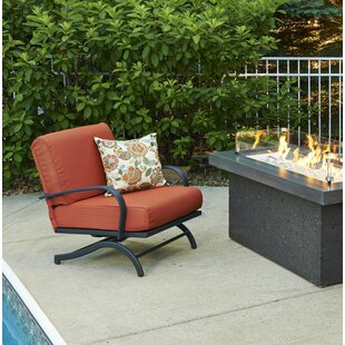Chat Rocking Chair with Cushions (Set of 2) by The Outdoor GreatRoom Company