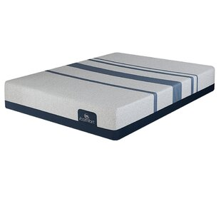 iComfort 11 Plush Gel Memory Foam Mattress and Adjustable Base by Serta