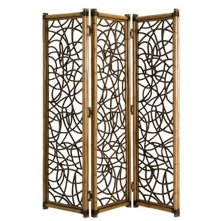 Palms Exuma 3 Panel Room Divider by Tommy Bahama Home