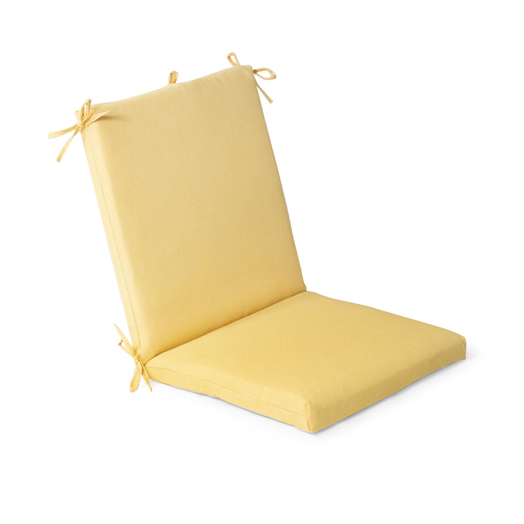 Yellow Chair Seat Cushions You Ll Love In 2021 Wayfair