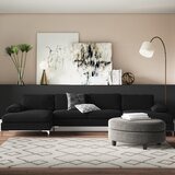 Demarcus 130.5 Velvet Symmetrical Large Sectional by Ivy Bronx